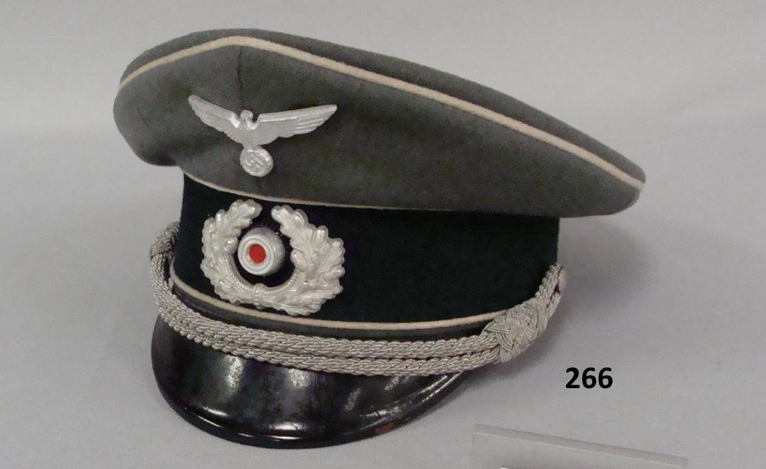 GERMAN WW II INFANTRY OFFICER'S VISOR