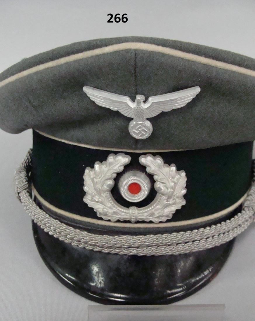 GERMAN WW II INFANTRY OFFICER'S VISOR - 3