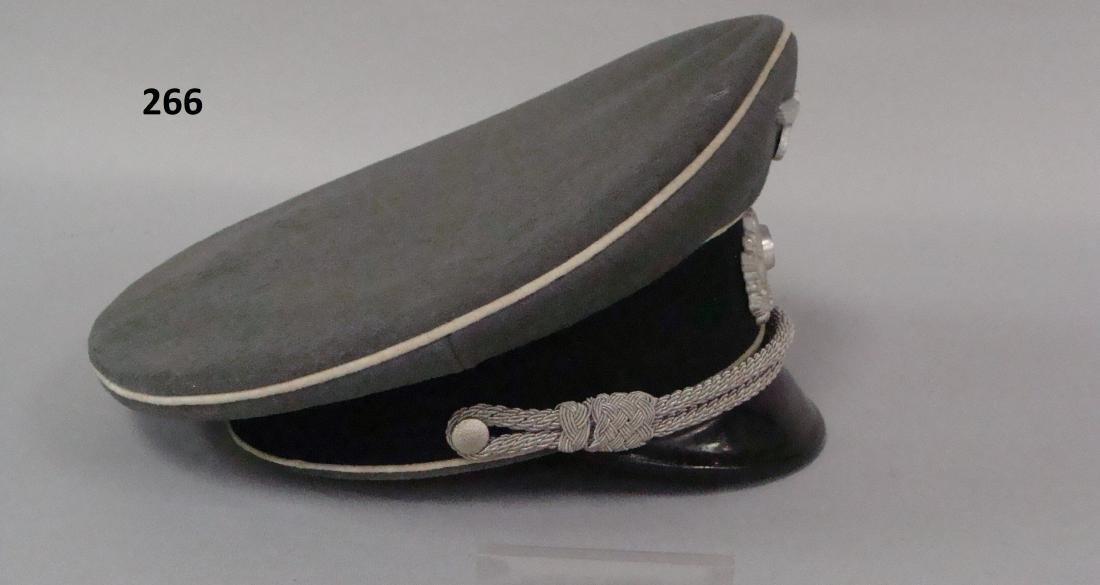 GERMAN WW II INFANTRY OFFICER'S VISOR - 6