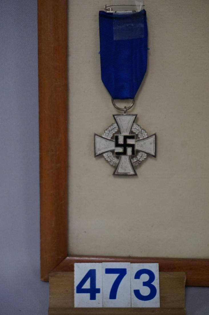 (6) MEDAL WITH CITATION OF DAF FOR 25 YEARS - 2