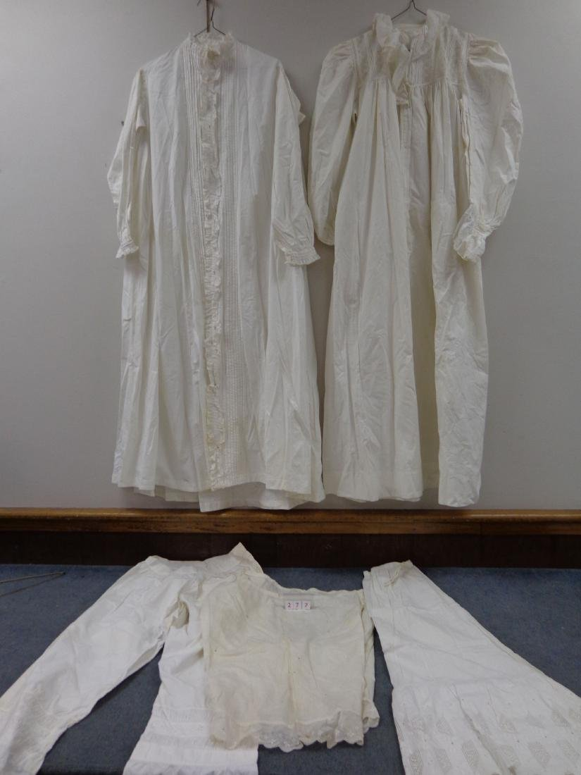 LOT OF LADIES VICTORIAN CLOTHING