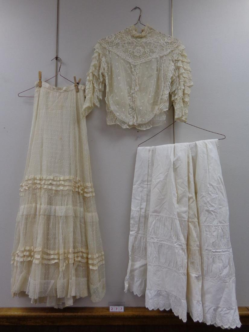 LOT OF LADIES VICTORIAN CLOTHING - 2