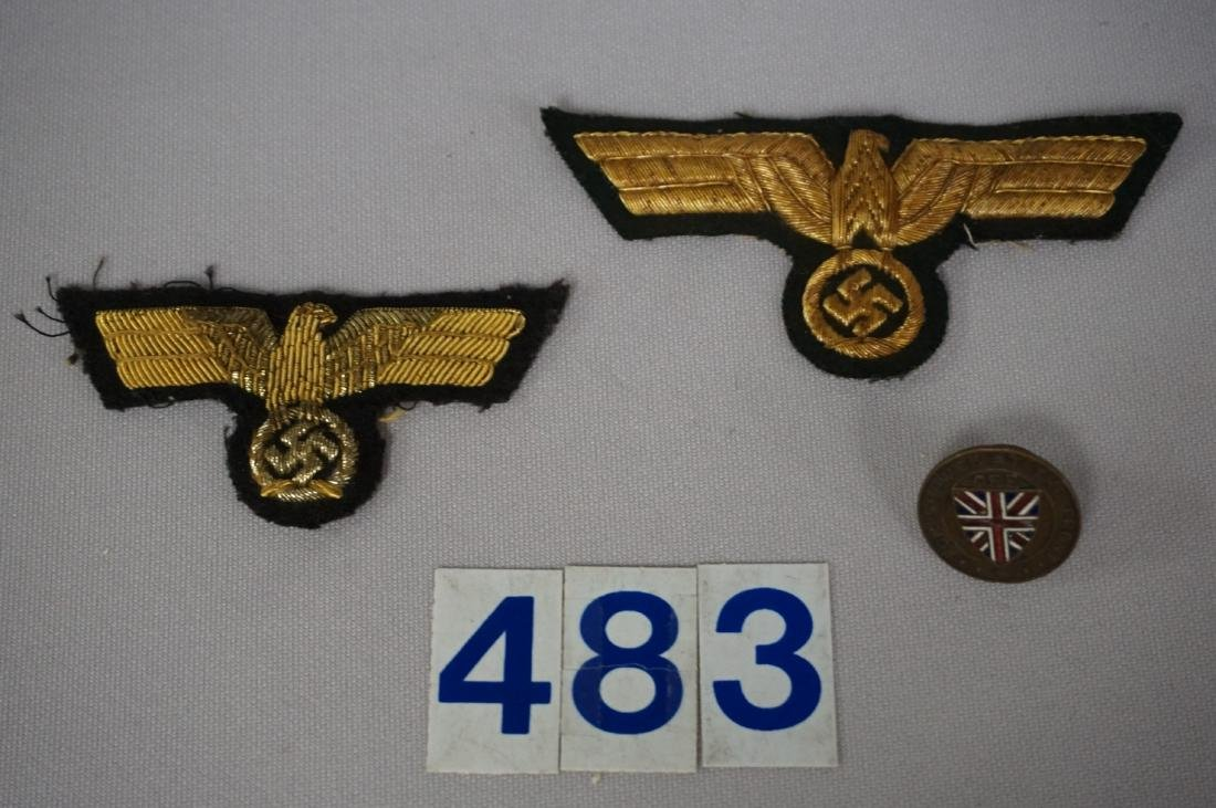 WW II GERMAN GENERALS INSIGNIA -
