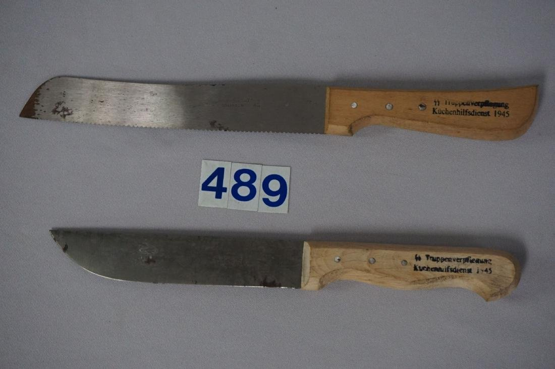 (2 PIECES) SS CANTEEN KITCHEN KNIVES