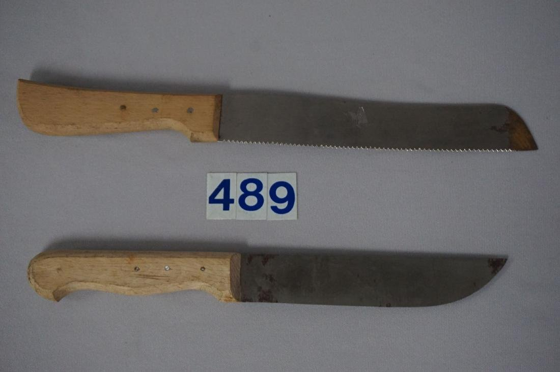 (2 PIECES) SS CANTEEN KITCHEN KNIVES - 2
