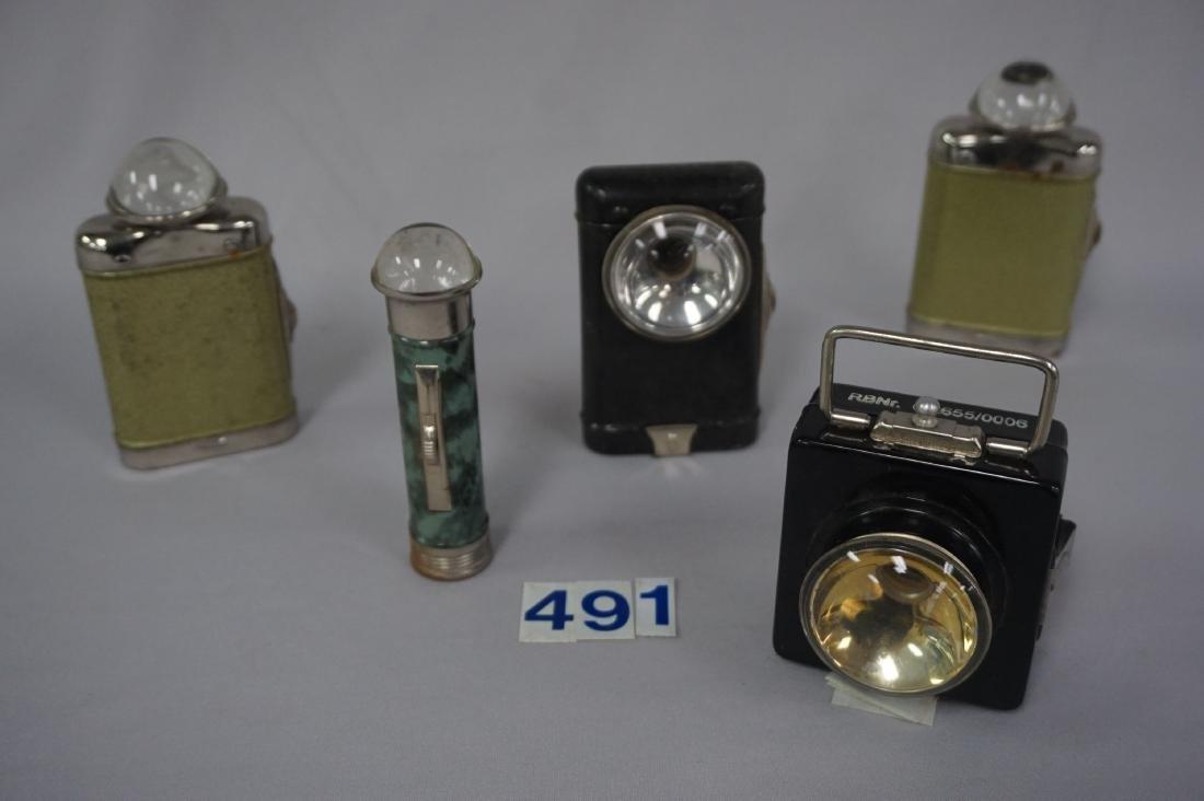 (5) GUARD DUTY LAMPS, LATE WAR PERIOD,