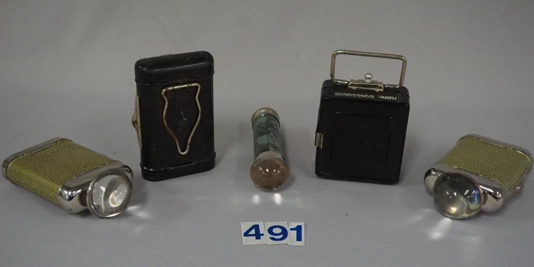 (5) GUARD DUTY LAMPS, LATE WAR PERIOD, - 2