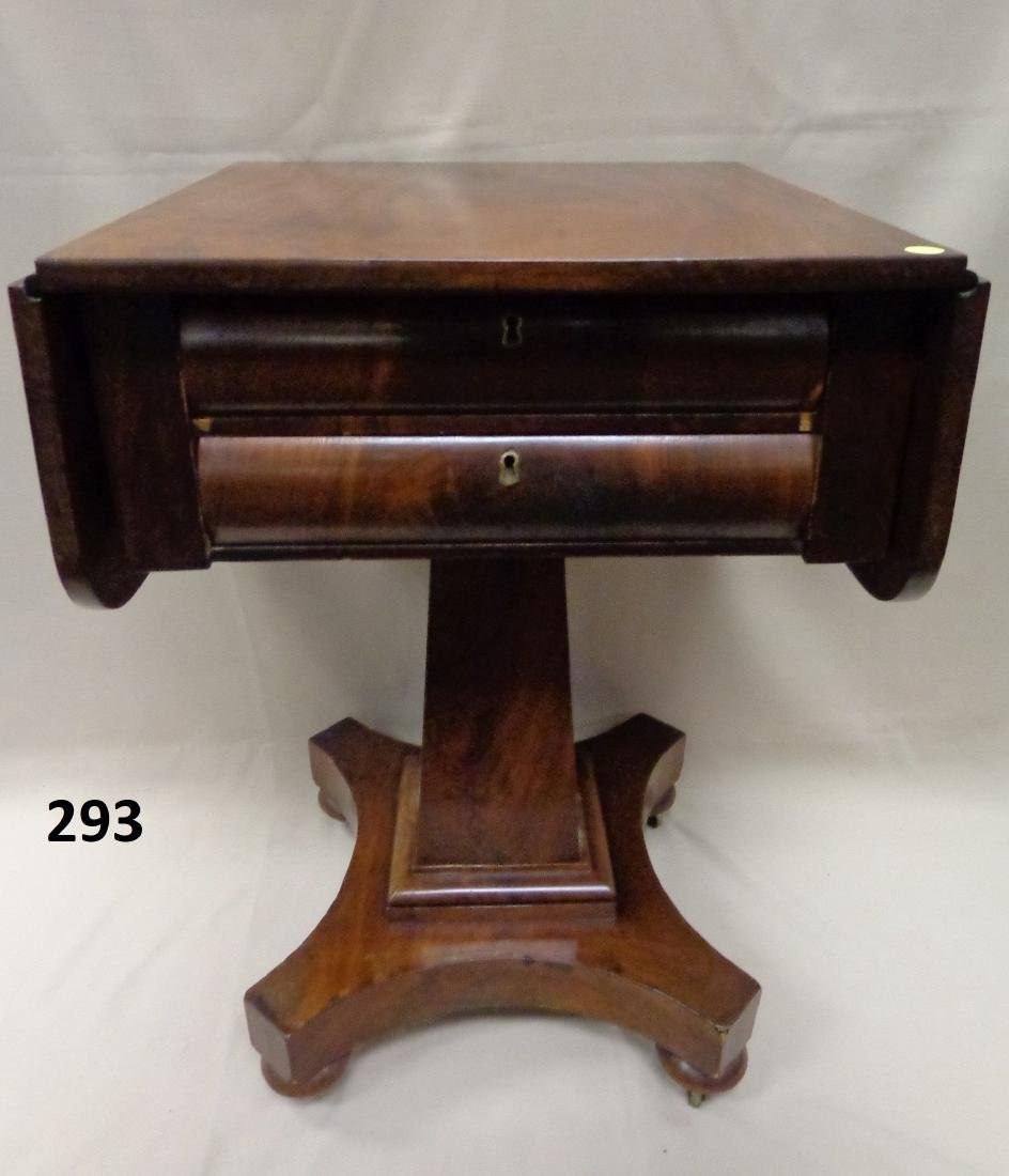 EMPIRE SEWING STAND SIDE TABLE