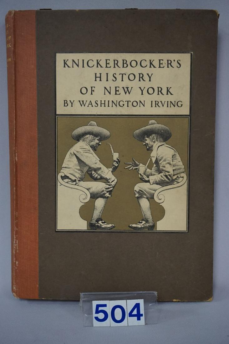 BOOK: KNICKERBOCKER'S HISTORY
