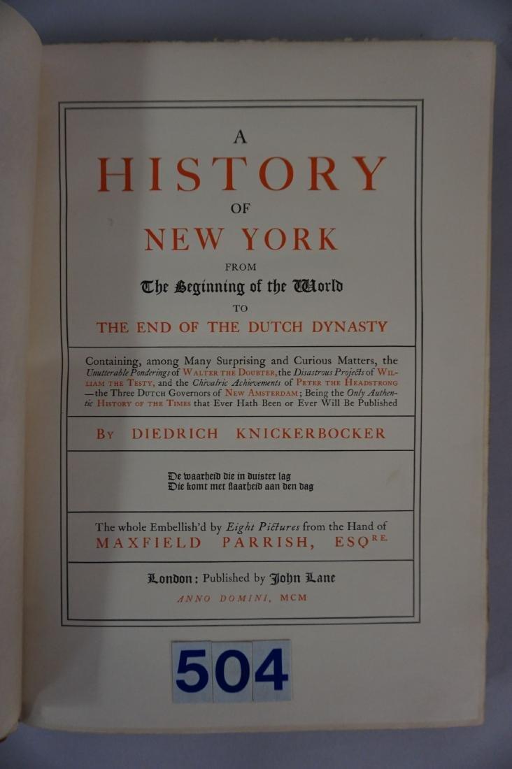 BOOK: KNICKERBOCKER'S HISTORY - 2
