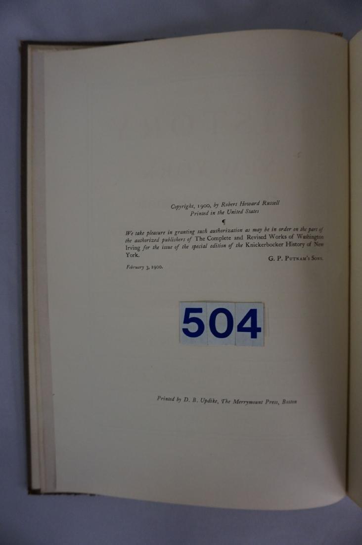 BOOK: KNICKERBOCKER'S HISTORY - 3