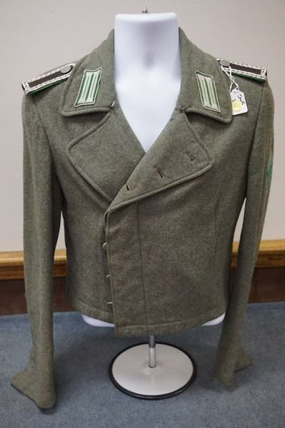 RARE GERMAN WWII PANZER POLICE WRAPPER