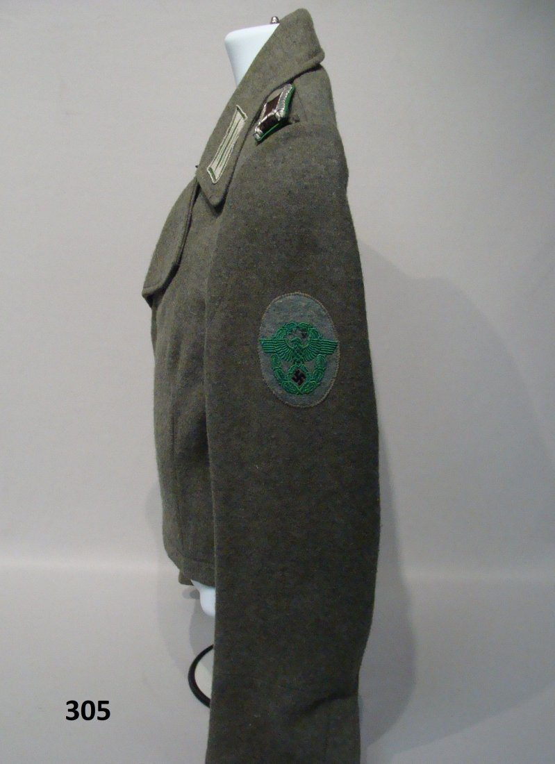 RARE GERMAN WWII PANZER POLICE WRAPPER - 8
