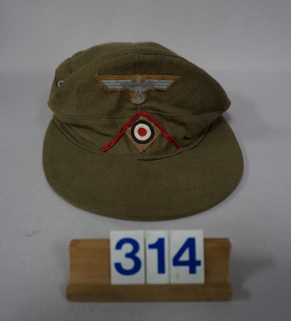 AFRICA KORPS M43 CARL HALFAR HAT,