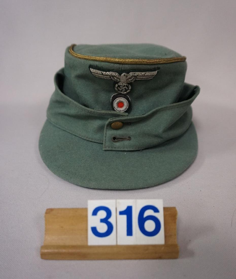 M43 GENERAL'S VISOR, FINE DOESKIN