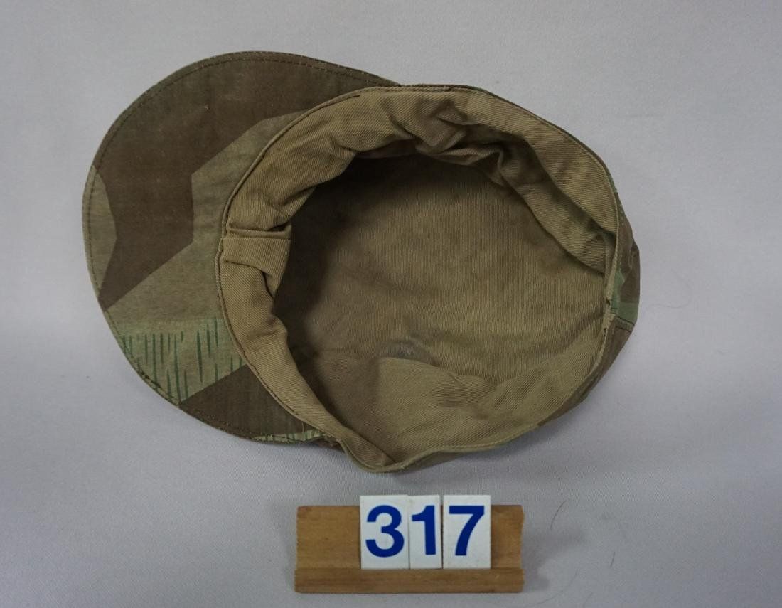 CAMOUFLAGE FIELD CAP IN ARMY - 4