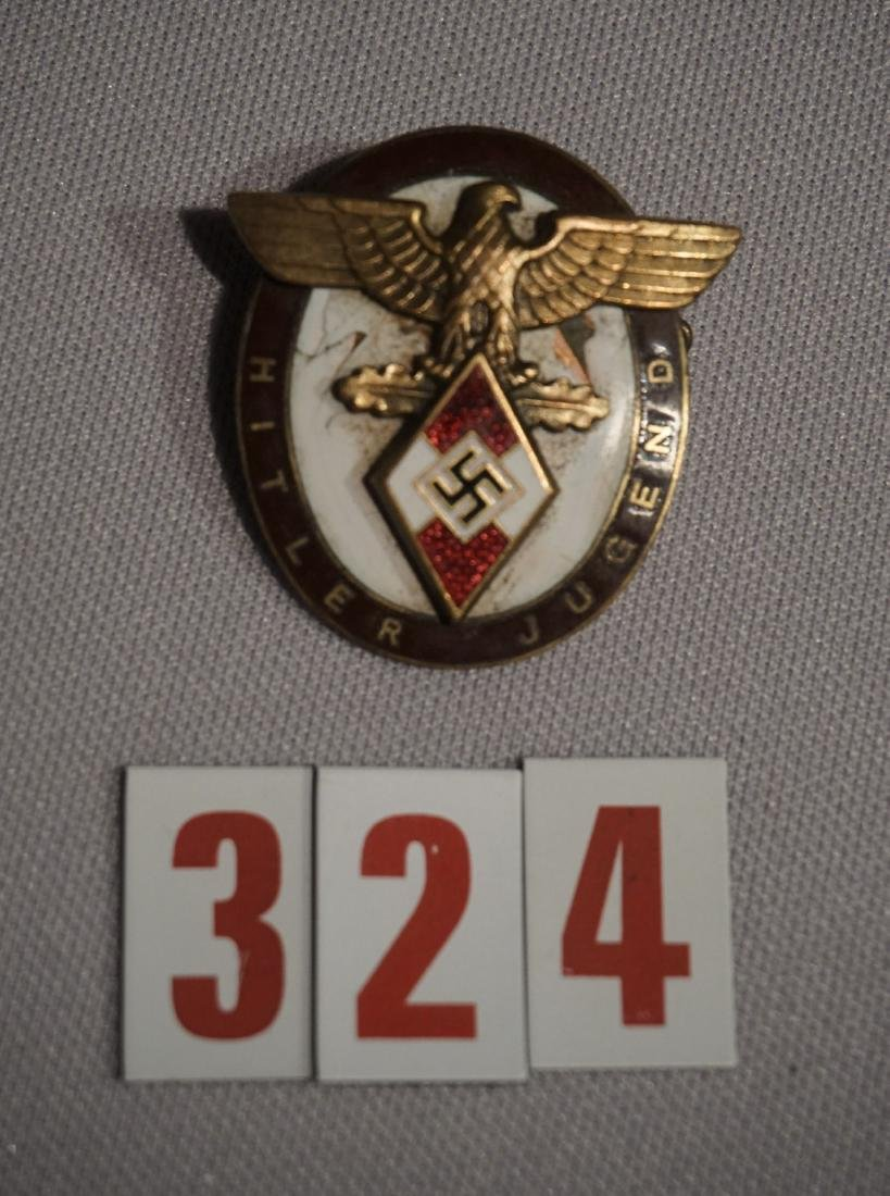 HITLER YOUTH BADGE FOR FOREIGNERS,