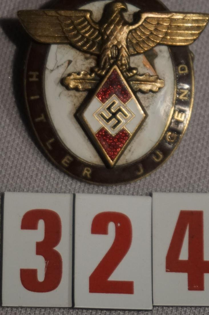 HITLER YOUTH BADGE FOR FOREIGNERS, - 2