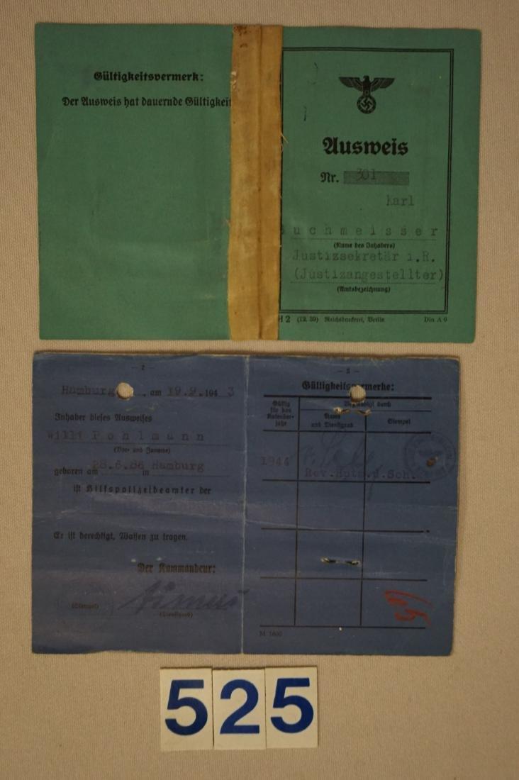 (2) PHOTO I.D. PASSES, - 2