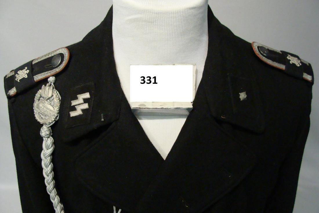 EXTREMELY RARE GERMAN WWII WAFFEN SS - 4