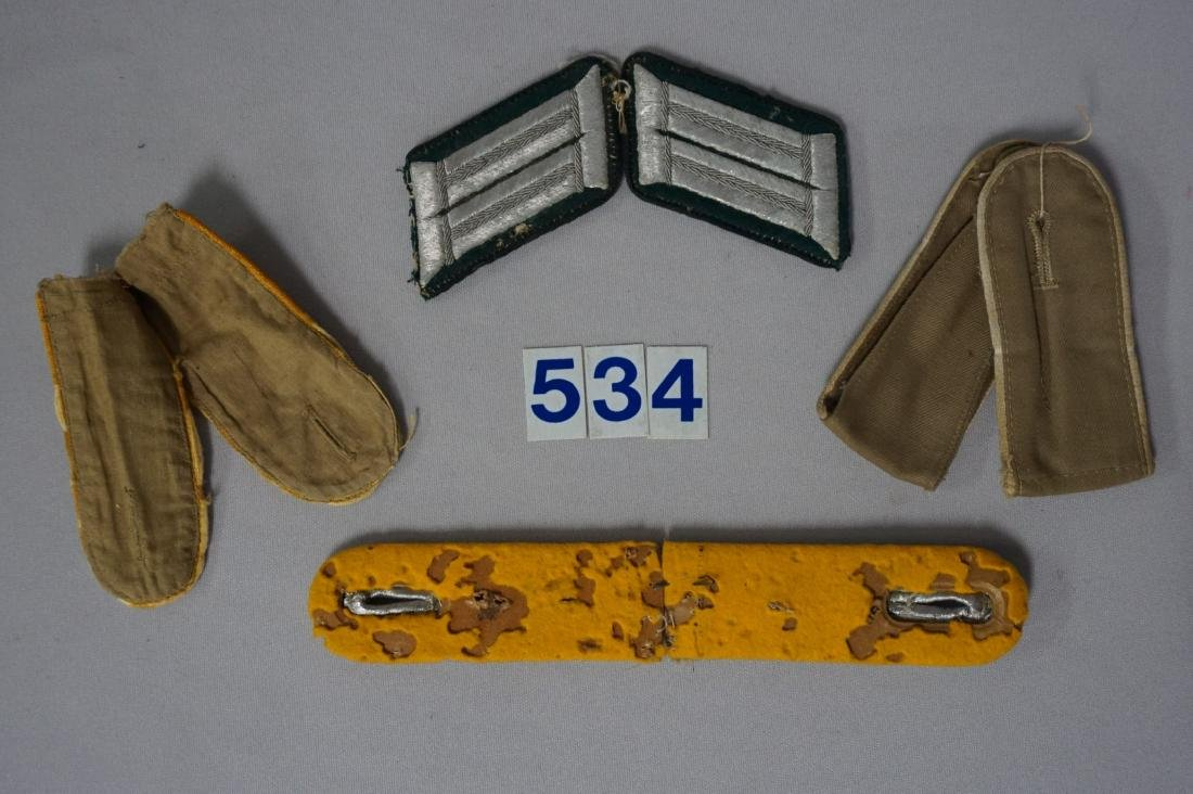 GROUP OF WEHRMACHT SHOULDER BOARDS - 2
