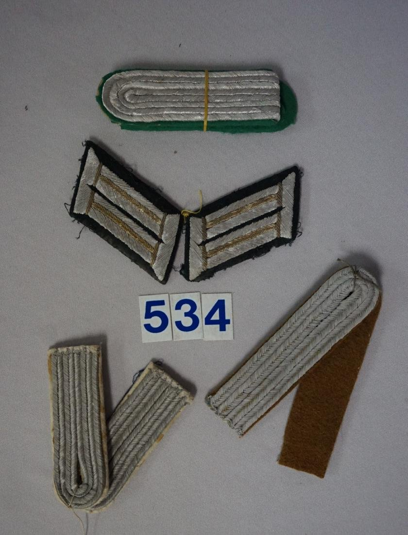 GROUP OF WEHRMACHT SHOULDER BOARDS - 3