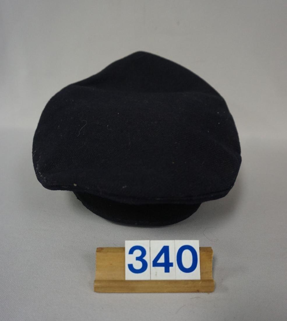 WW II RED RLB VISOR HAT, EARLY, LOW RANK - 2