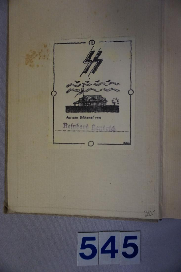REINHOLD HEYDRICH EX-LIBRS BOOK PLATE - 3