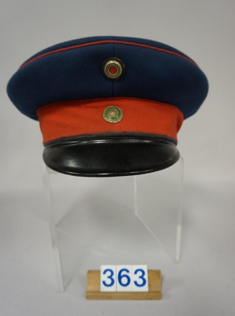 SAXON  ARMY OFFICER'S VISOR,