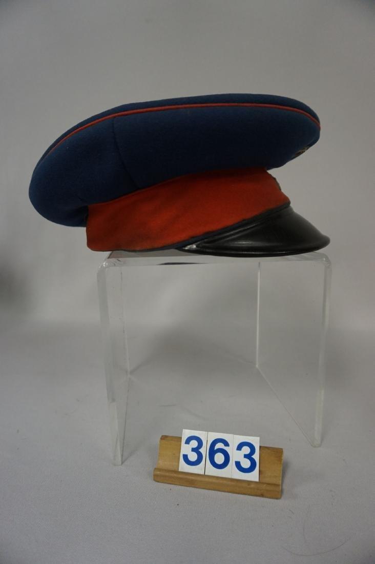 SAXON  ARMY OFFICER'S VISOR, - 3