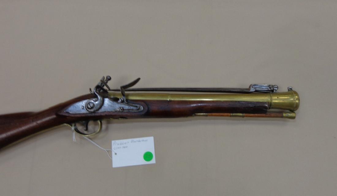 PRUDDEN BLUNDERBUSS, CIRCA 1800 - 4