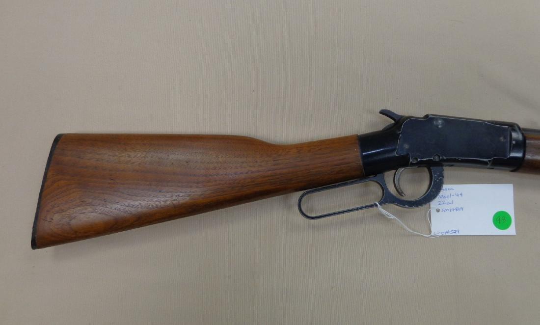 ITHACA MODEL-49 SINGLE SHOT 22 CAL. RIFLE - 2