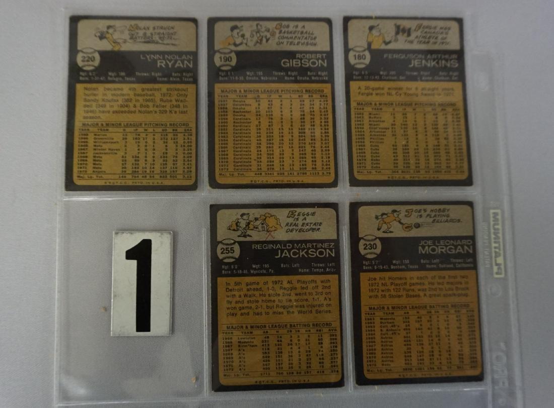 (280+ DIFF.) 1973 TOPPS BASEBALL CARDS - 3