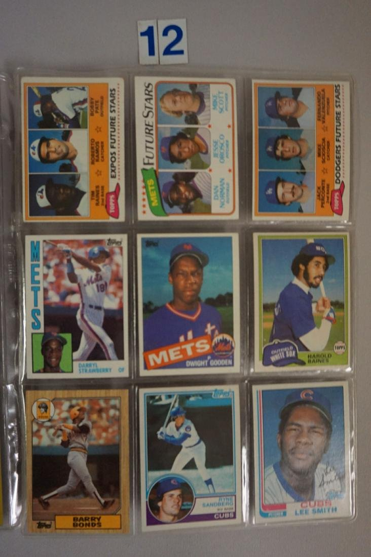 (27) BASEBALL ROOKIE CARDS IN SHEETS - 3
