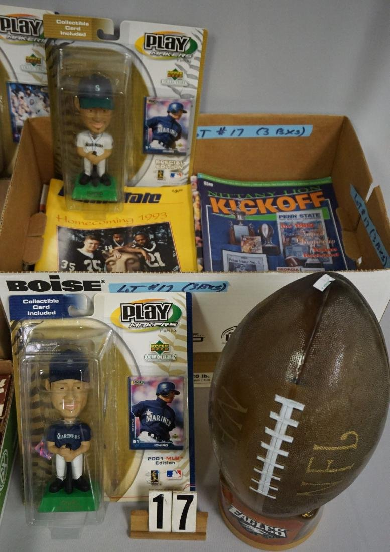 BOX WITH ASSORTED BASEBALL TRADED - 2