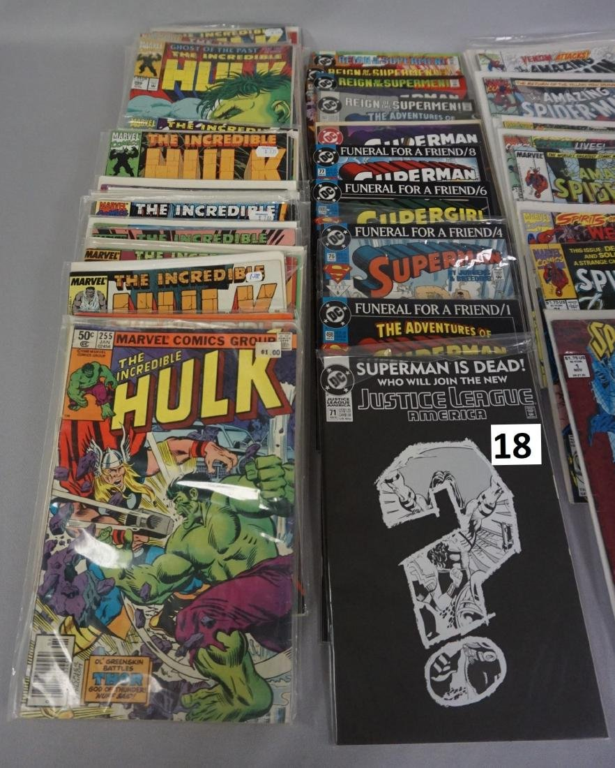 COMIC BOOK LOT: (37) THE HULK, (15) SUPERMAN, - 2