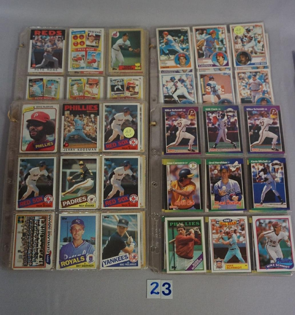 LOT: (25 DIFF.) 1958 & (36 DIFF.) 1959 TOPPS - 2