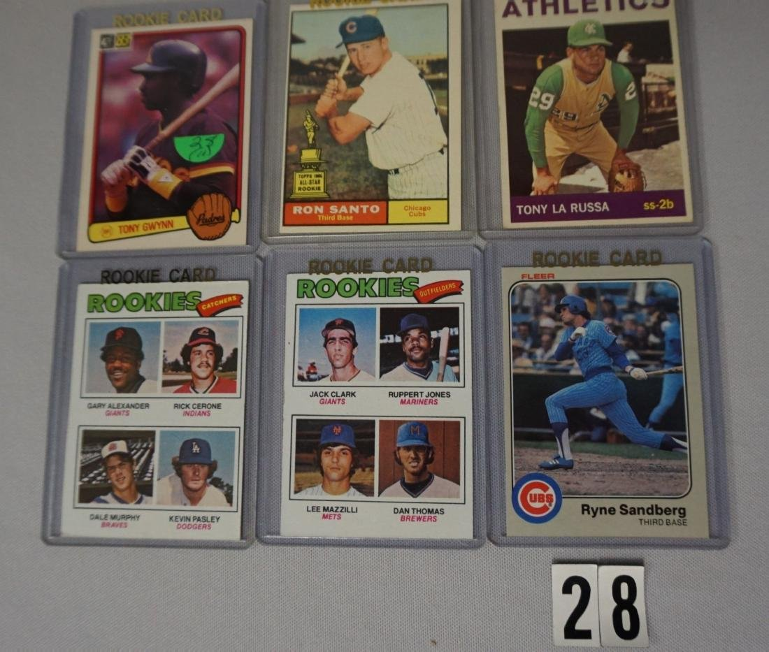 (11 DIFF.) BASEBALL ROOKIE CARDS - 2