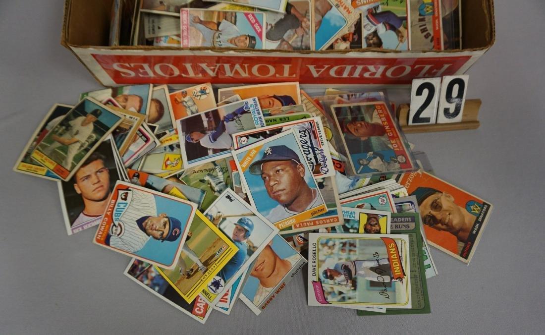 GRAB BOX OF BASEBALL CARDS - 2