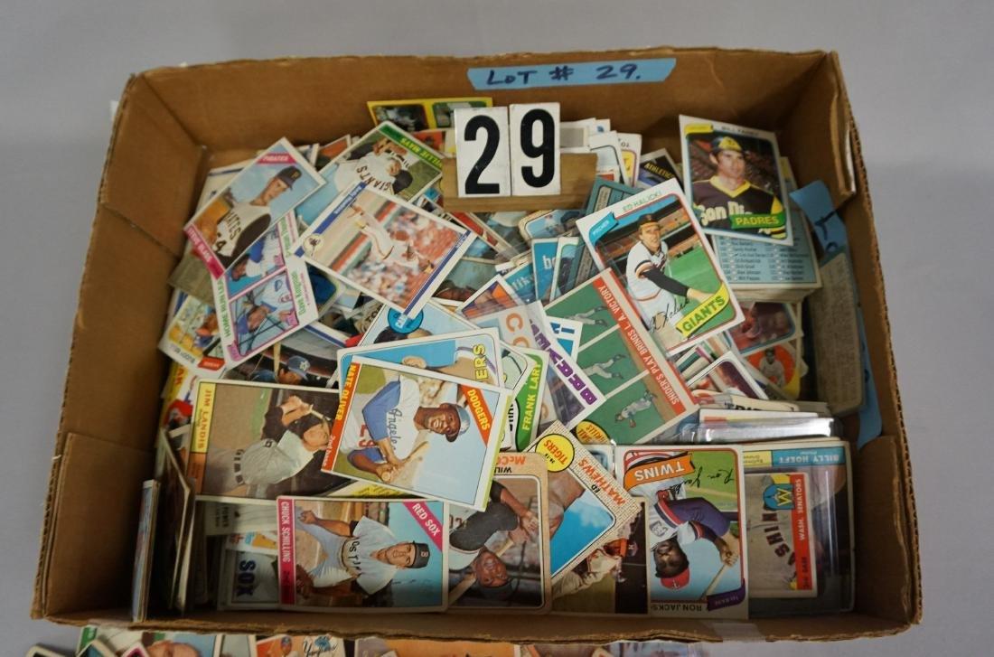 GRAB BOX OF BASEBALL CARDS - 3