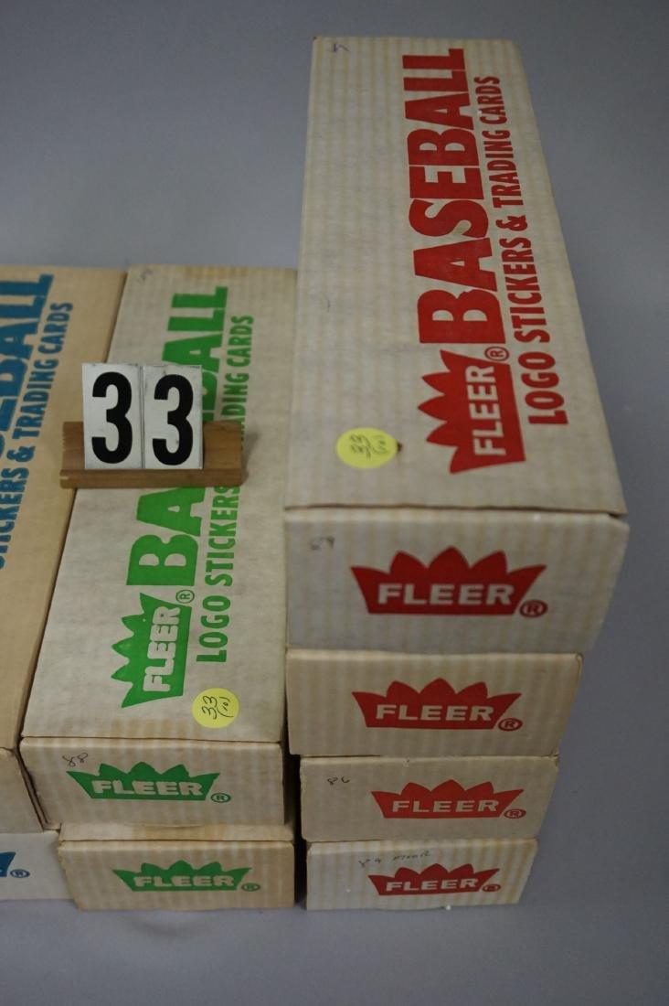 FLEER BASEBALL CARD SETS: - 3