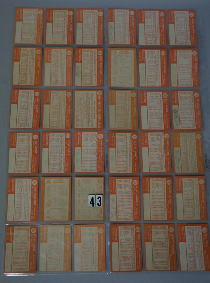 (63) 1964 TOPPS BASEBALL CARDS - 2