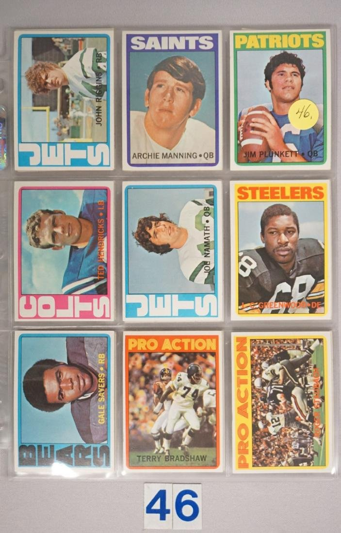 FOOTBALL CARD LOT: