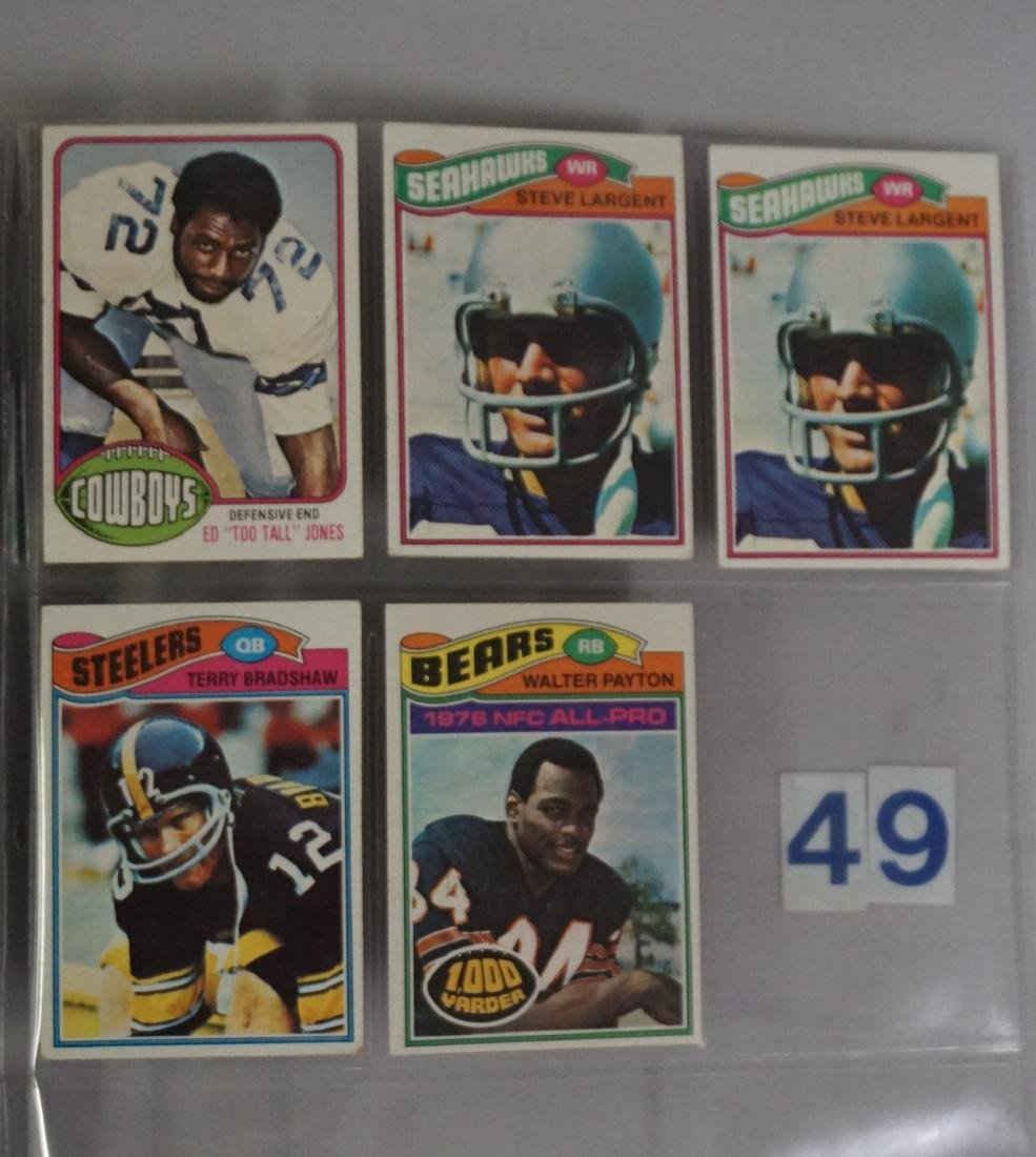 (10) 1976 TOPPS FOOTBALL STARS: - 3