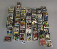 INTERESTING TWO-ROW BOX OF MIXED SPORTS