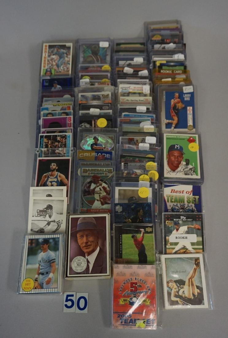 INTERESTING TWO-ROW BOX OF MIXED SPORTS - 3