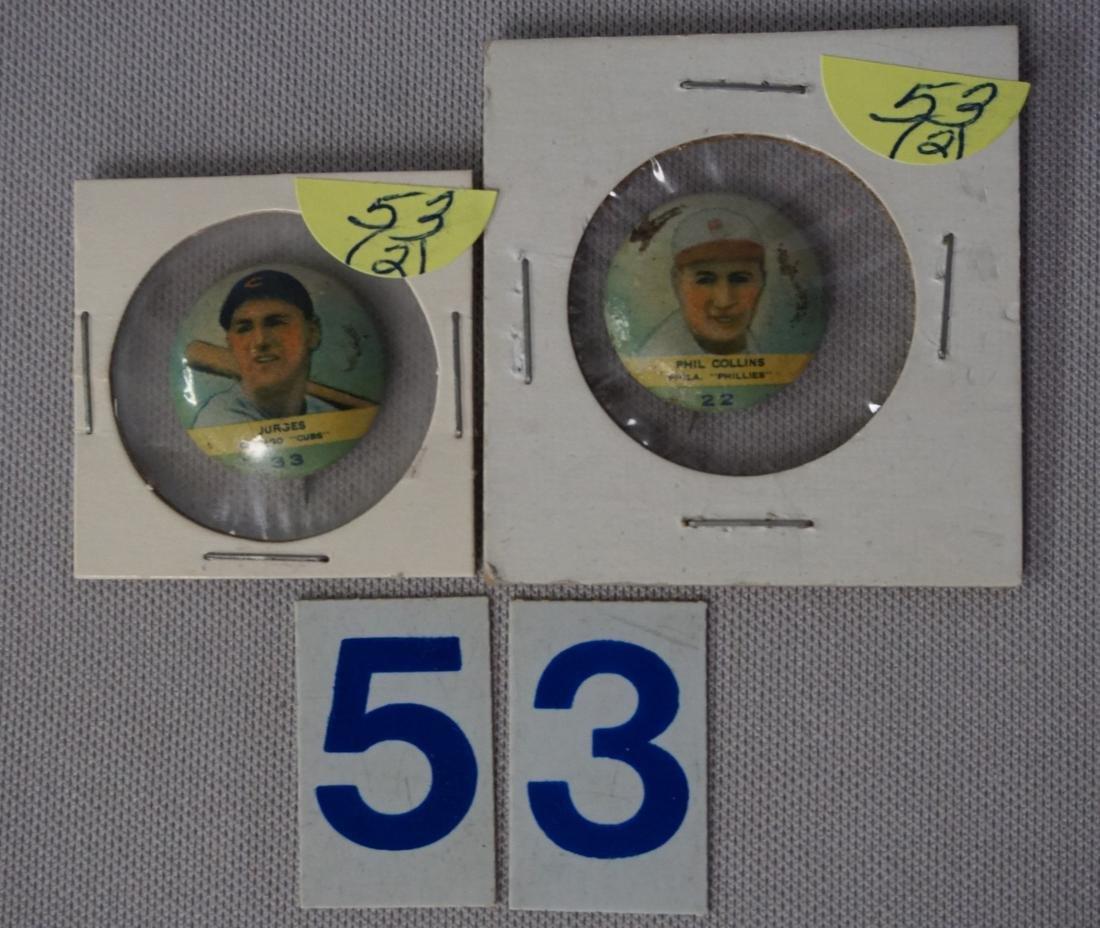 1932 ORBIT GUM PINS (PR2):