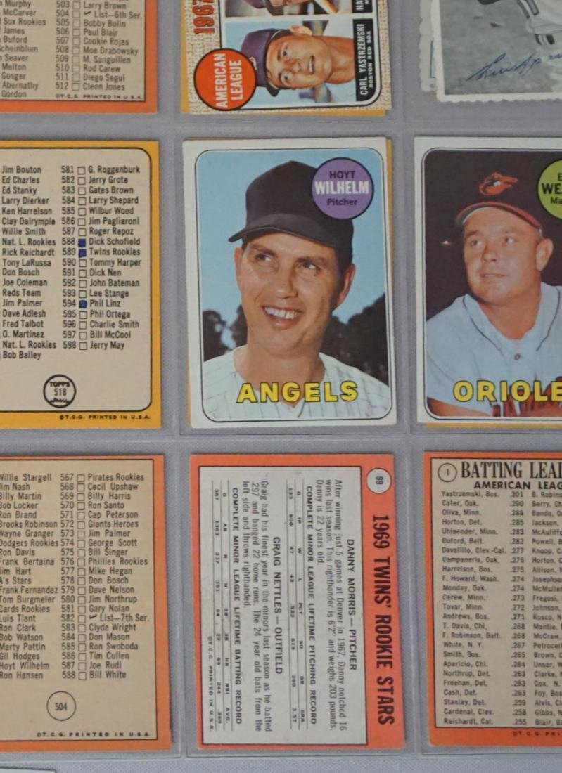 (22 CARDS) 1960'S LOT: C-LIST CARDS - 3