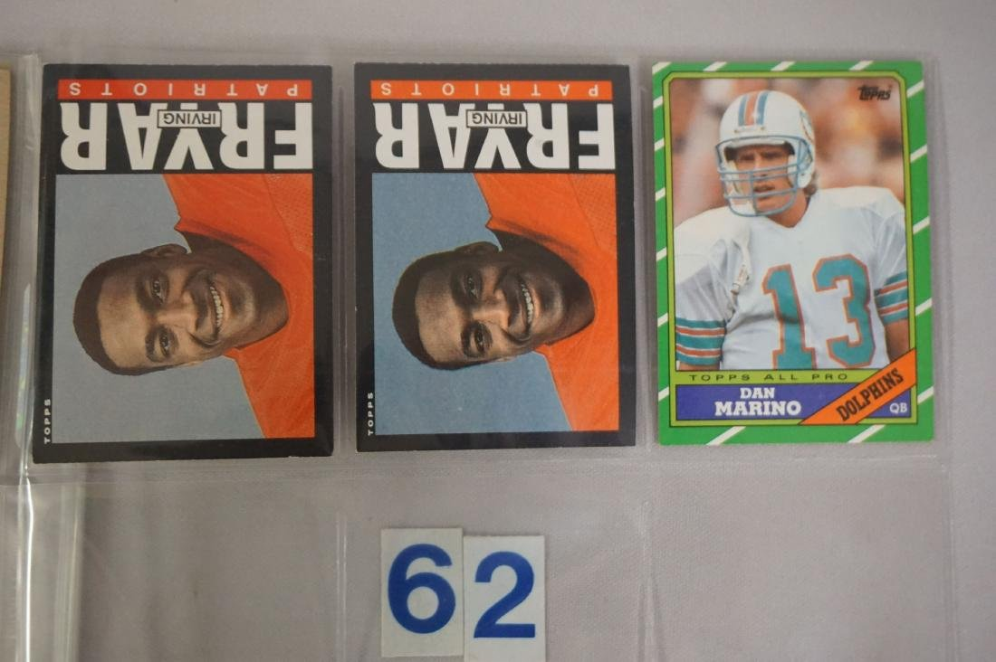 FOOTBALL CARD LOT: - 7