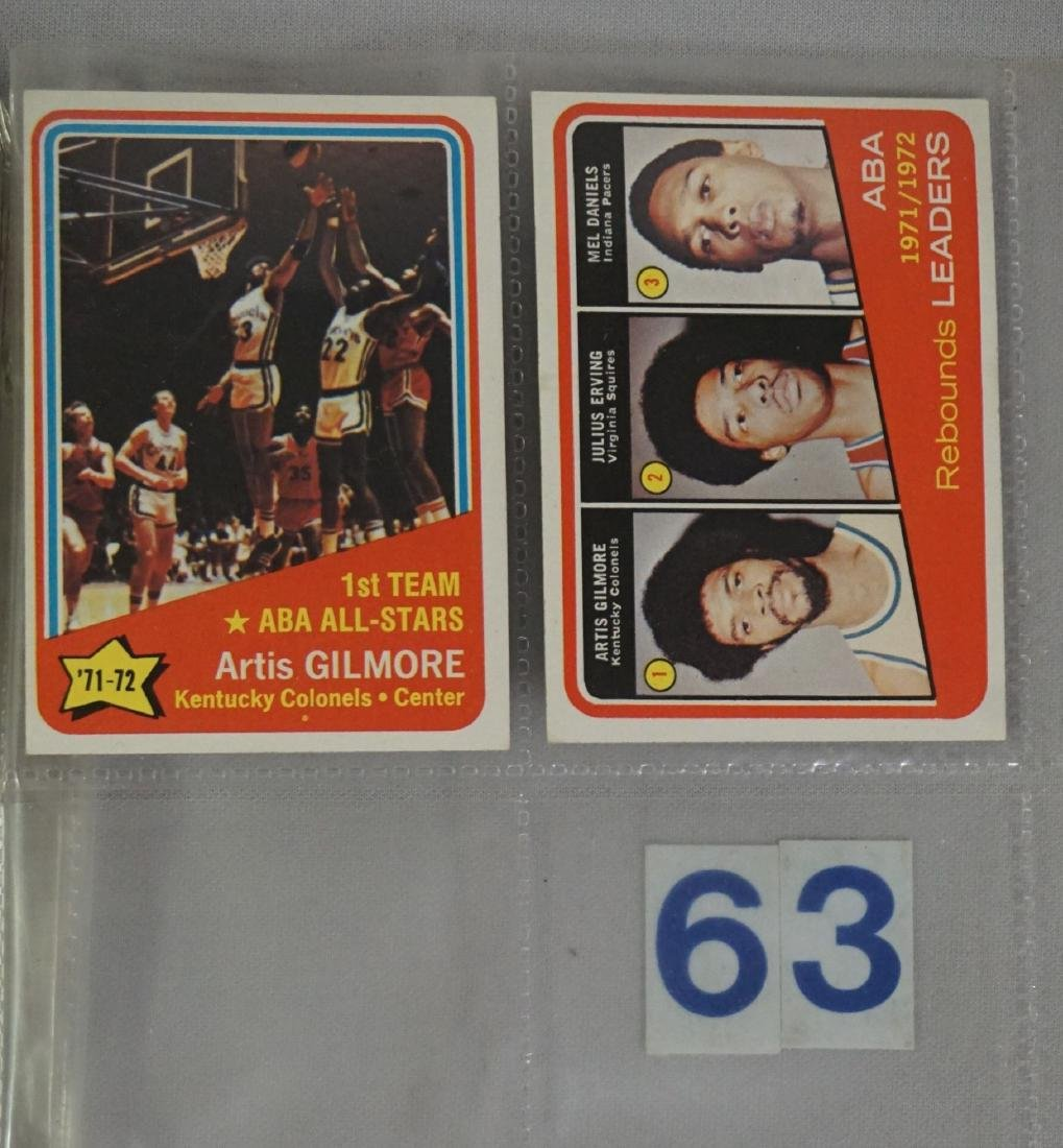(47) 1972-'73 TOPPS BASKETBALL CARDS - 10